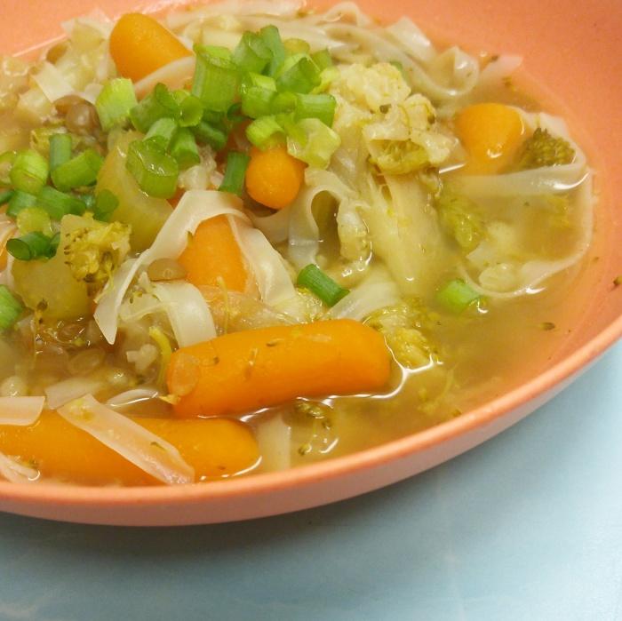 Lazy Veggie Soup – Insant PotStyle